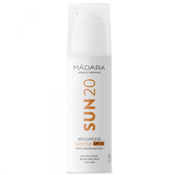 Madara Weightless Sonnenmilch SPF20