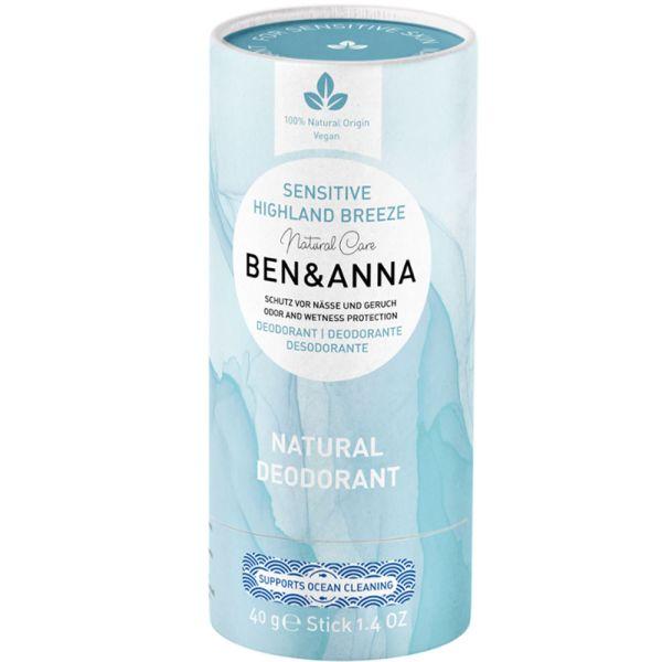 Ben & Anna Deodorant Sensitive Highland Breeze