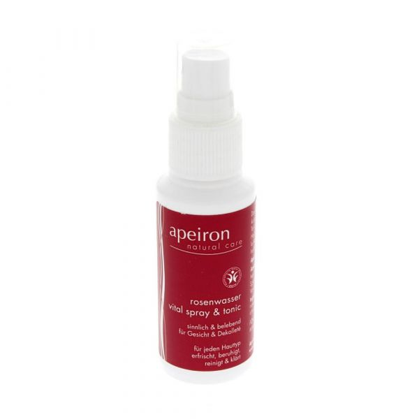 Apeiron Rosenwasser Vital Spray & Tonic 150ml