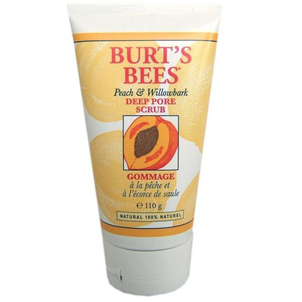 Burts Bees Peach & Willobark Deep Pore Scrub