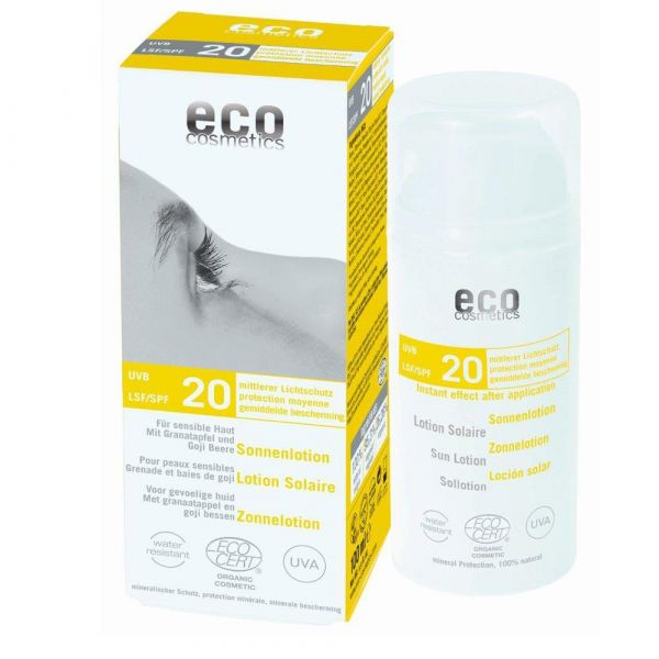 Eco Cosmetics Sonnenlotion LSF 20