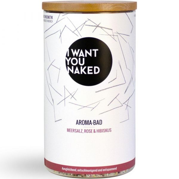 I Want You Naked Aroma-Bad Rose & Hibiskus
