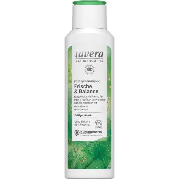 Lavera PFLEGESHAMPOO FRISCHE & BALANCE Bio-Matcha & Bio-Quinoa