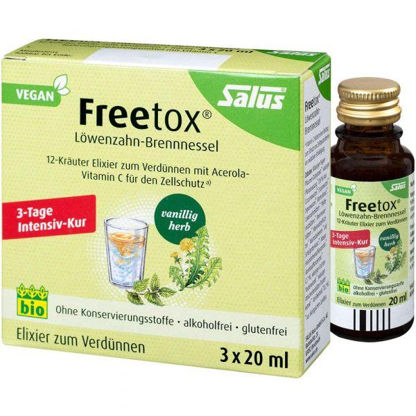 Salus Freetox 12-Kräuter Elixier 60ml