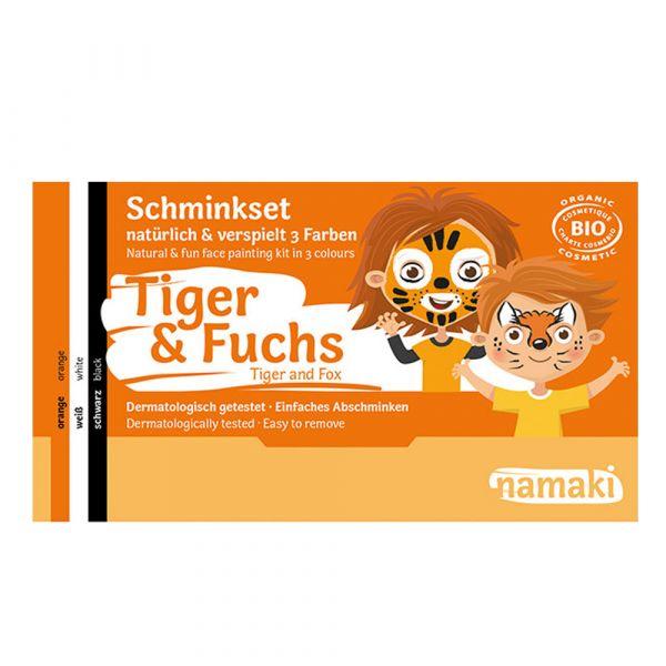 Namaki Cosmetics Schminkset Tiger & Fuchs