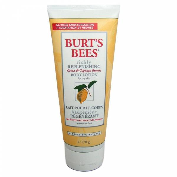 Burts Bees Replenishing Cocoa & Cupuaçu Butters 24-h Body Lotion