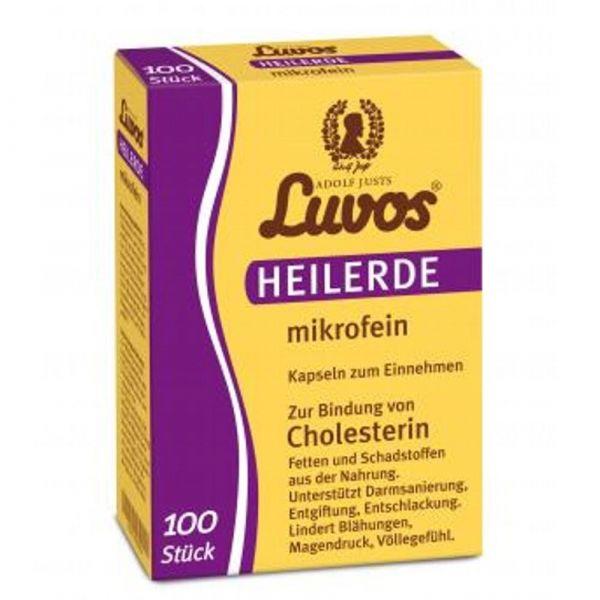 Luvos Heilerde Kapseln mikrofein 100 Stück