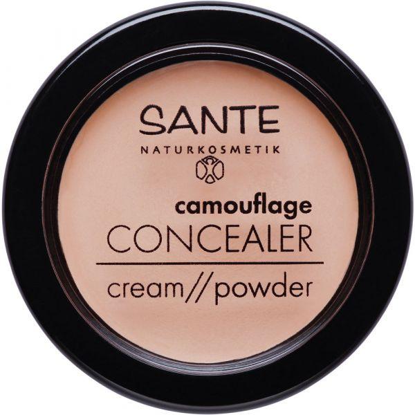 Sante camouflage CONCEALER cream powder 02 Sand