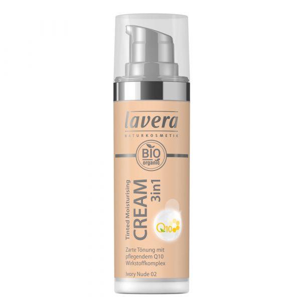 Lavera TINTED MOISTURISING CREAM 3in1 Q10 Nude 02
