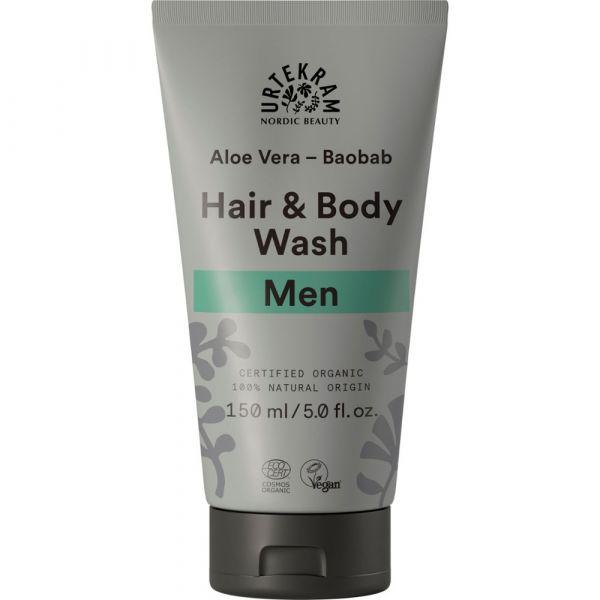 Urtekram Men Hair & Body Wash