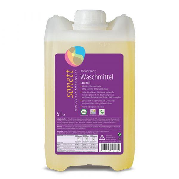 Sonett Flüssigwaschmittel Lavendel 5 Liter