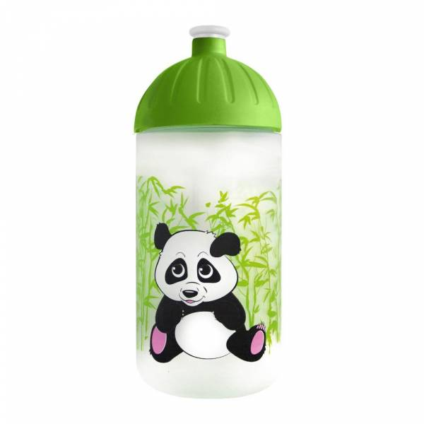 FreeWater Flasche Panda Transparent 0,5