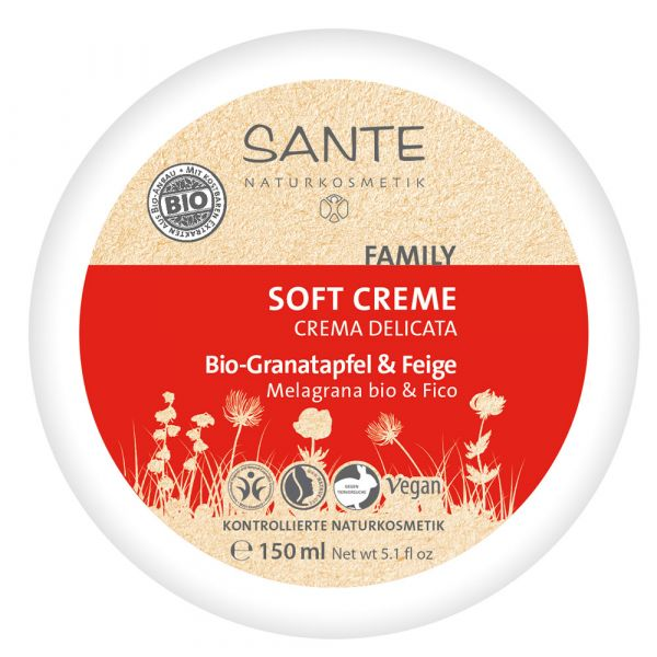 Sante Family Everyday Soft Cream bio Granatapfel & Feige