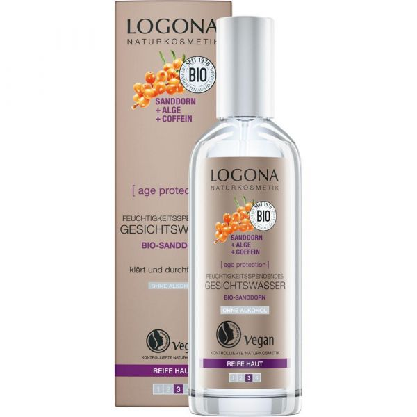 Logona age protection feuchtigkeitspendendes Gesichtswasser