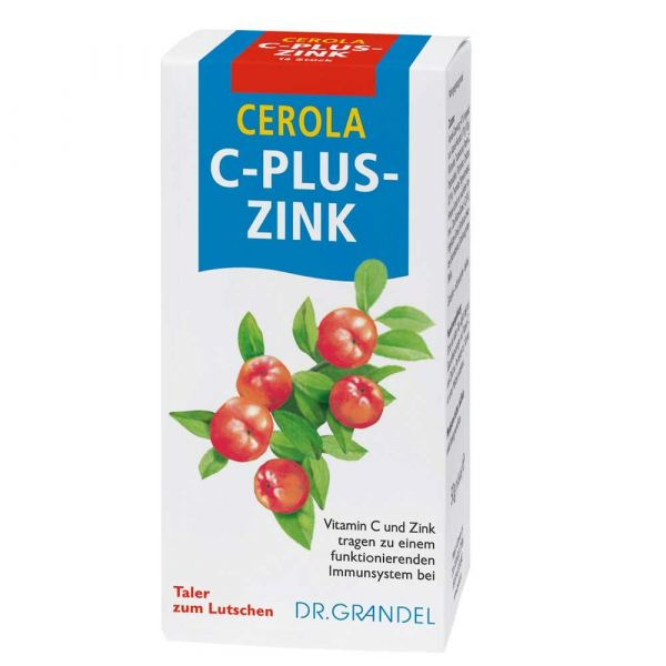 Dr. Grandel Cerola C plus Zink Taler 60 Stück