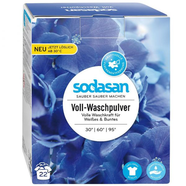 Sodasan Voll Waschpulver 1,01Kg