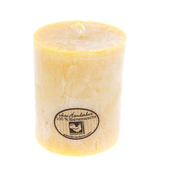 Kerzenfarm Hahn Bienenwachs Stumpenkerze 65x75