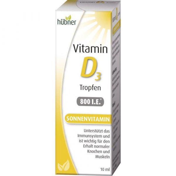 Hübner Vitamin D3 Tropfen