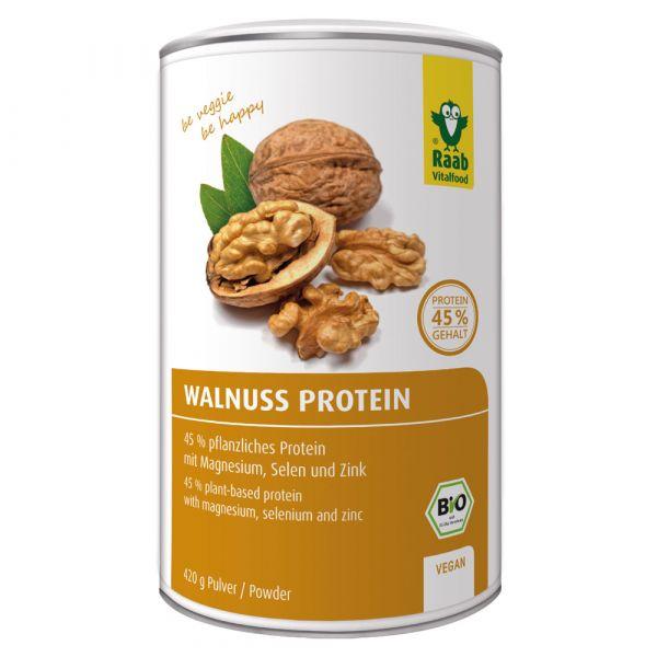 Raab Vitalfood Protein Pulver Walnuss 420g