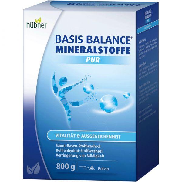 Hübner Basis Balance Mineralstoffe Pur 800g