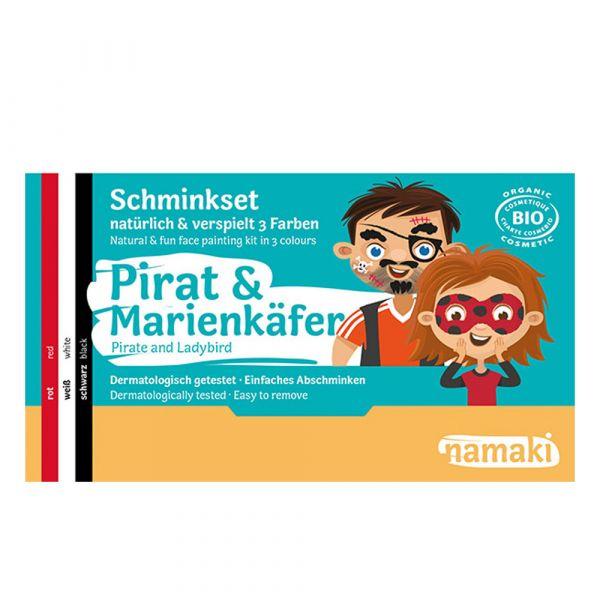 Namaki Cosmetics Schminkset Pirat & Marienkäfer