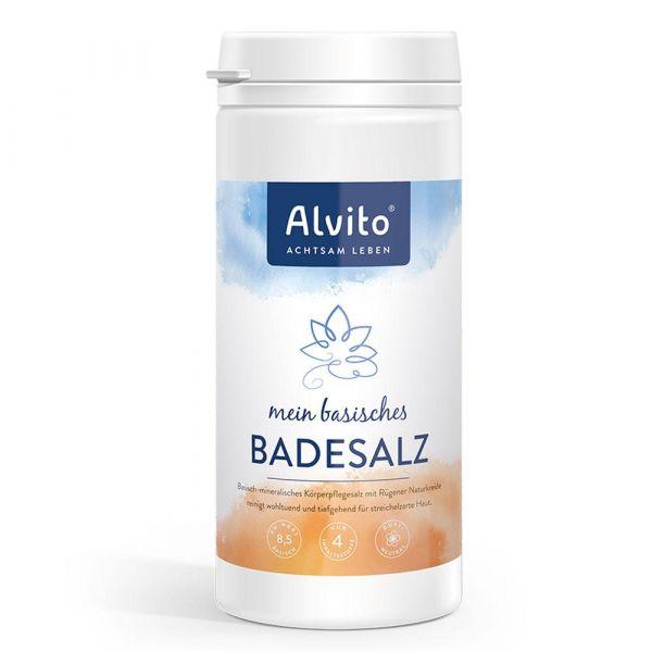 Alvito Basisches Badesalz 1,5Kg