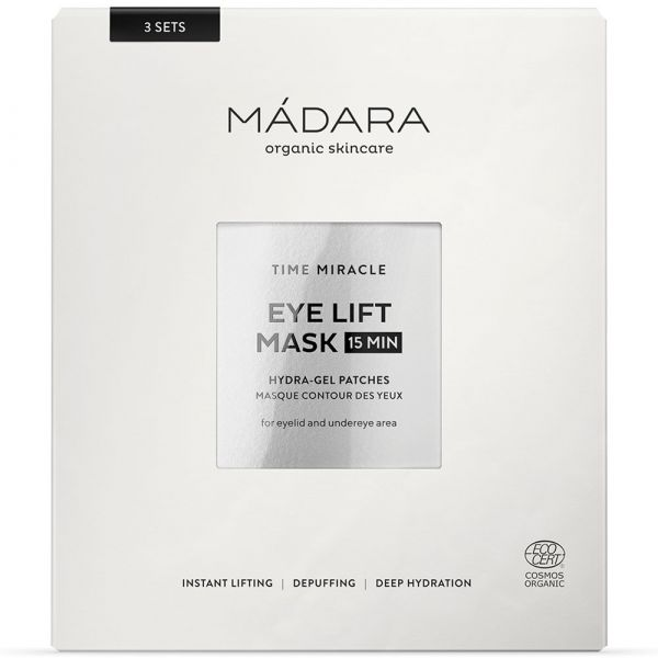 Madara TIME MIRACLE Hydra-Gel Augenpatches 3 Stück