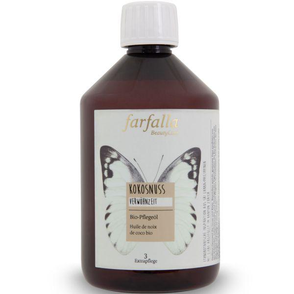 Farfalla Kokosnuss Bio-Pflegeöl 500ml