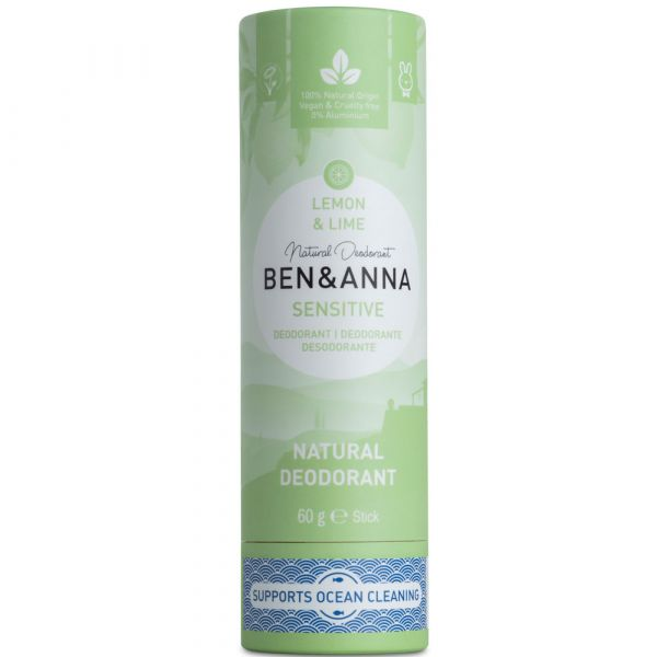 Ben & Anna Deodorant Sensitive Lemon & Lime