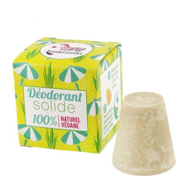 Lamazuna Festes Deodorant mit Palmarosa Öl