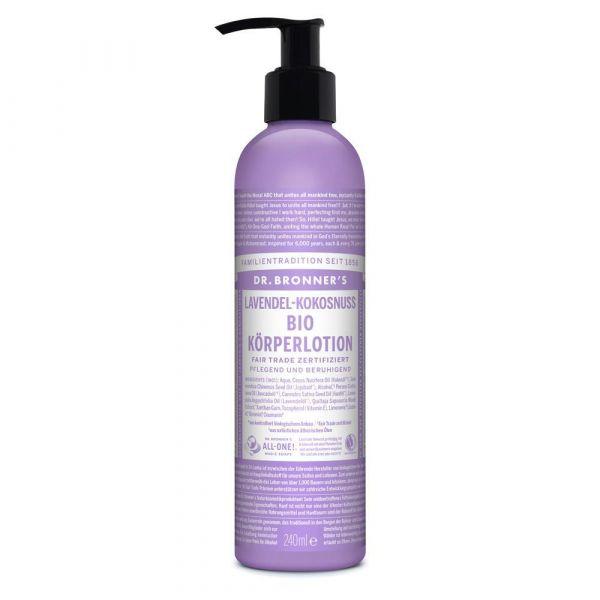 Dr. Bronner´s Body Lotion Lavendel Kokosnuss