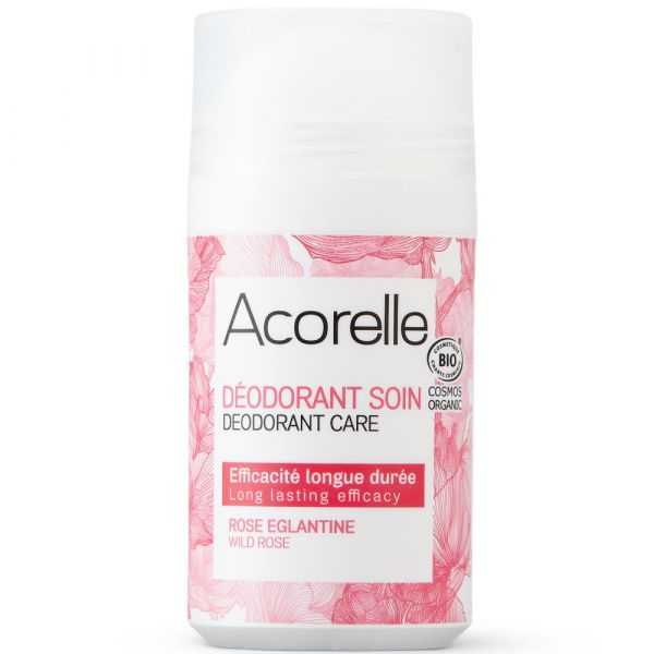 Acorelle DEO ROLL ON CARE Wild Rose