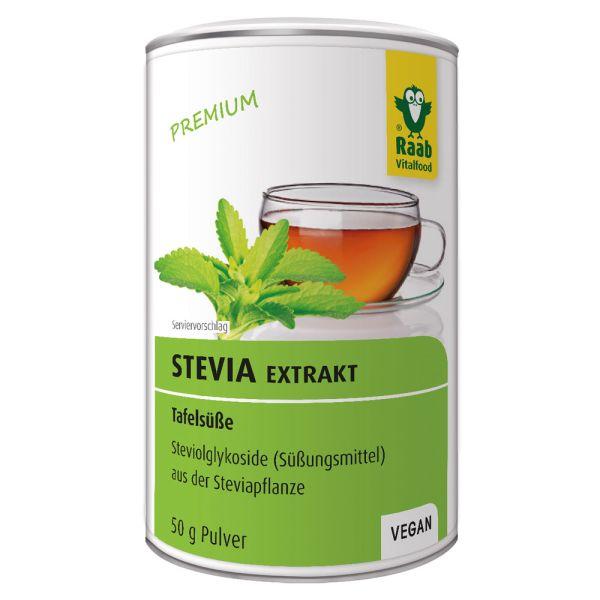 Raab Vitalfood Stevia Extrakt Tafelsüße