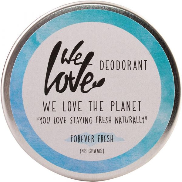 We Love The Planet Natürliche Deo Creme Forever Fresh