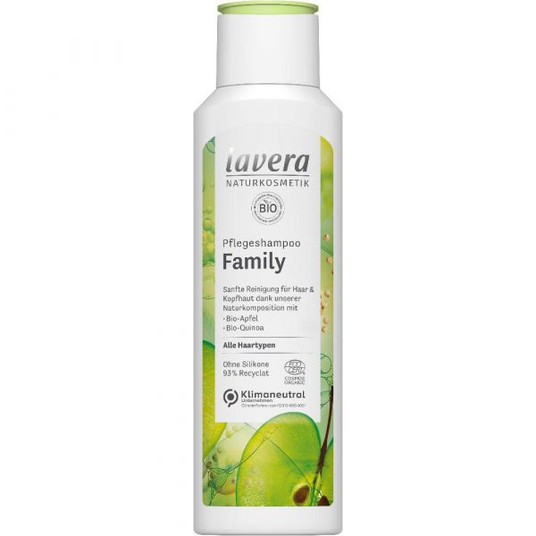 Lavera PFLEGESHAMPOO FAMILY Bio-Apfel & Bio-Quinoa