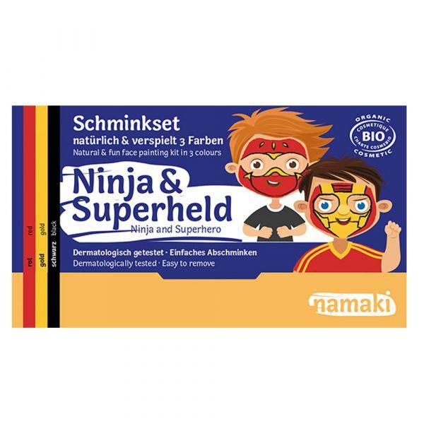 Namaki Cosmetics Schminkset Ninja & Superheld