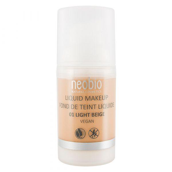 Neobio Liquid Make up  No.01 light beige