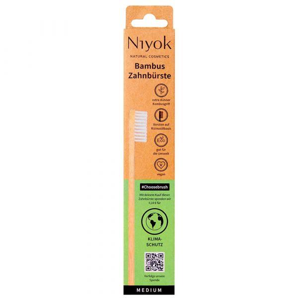 Niyok Bambus Zahnbürste Klimaschutz