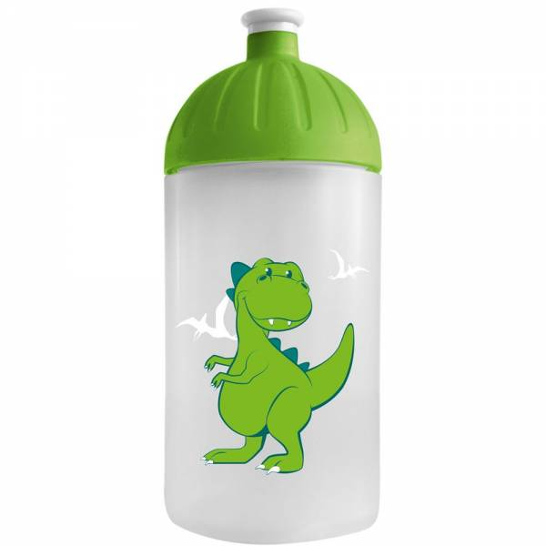 FreeWater Flasche Dino Transparent 0,5