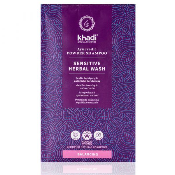 Khadi Sensitive Hair Herbal Wash Shampoo