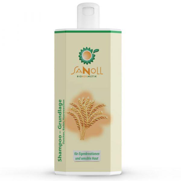 Sanoll Shampoo & Dusch-Bad Basis 1 Liter