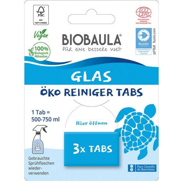 Biobaula Glasreiniger Tabs
