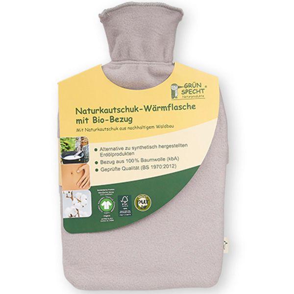 Grün Specht Bio-Wärmflasche