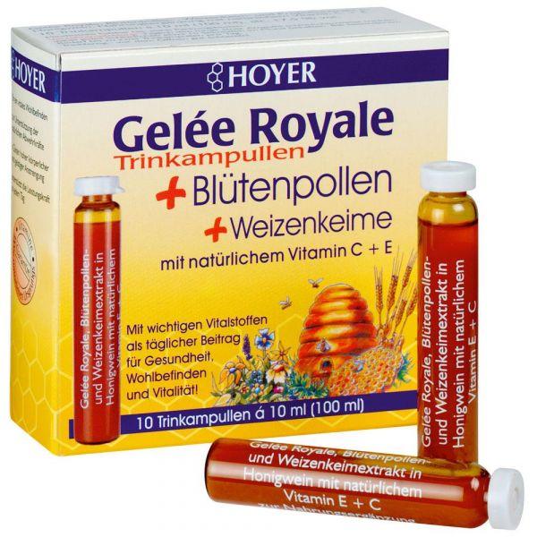 Hoyer Geleé Royale+Blütenpollen Kur