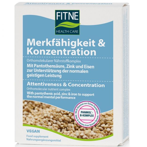 Fitne Nährstoffkomplex Merkfähigkeit & Konzentration