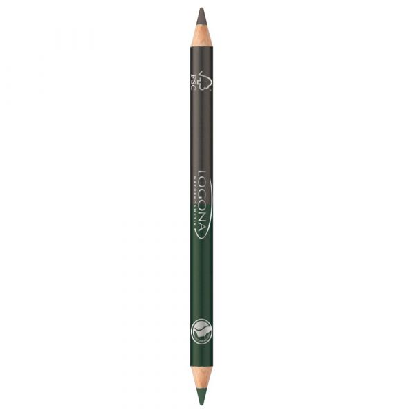 Logona Double Eyeliner Pencil No.02 forest