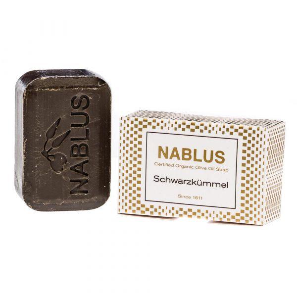 Nablus Olivenseife Schwarzkümmel