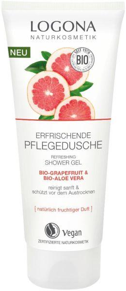 Logona Erfrischende Pflegedusche Bio Grapefruit & Bio Aloe Vera