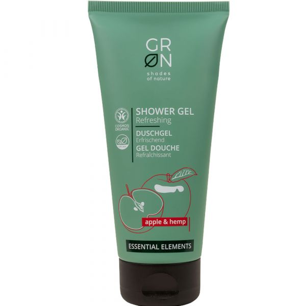 Grön Shower Gel Apple & Hemp