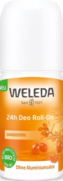 Weleda Sanddorn 24h Deo Roll On
